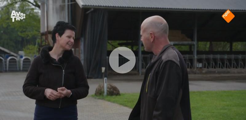 Agrarisch coach Paulien mee aan een reportage van EenVandaag over sociaal-emotionele problematiek in de agrarische sector