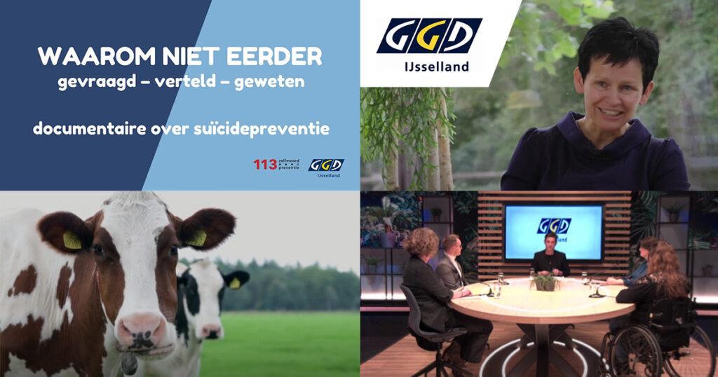Documentaire over suicidepreventie van GGD IJsselland - Waarom niet eerder